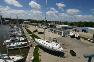 Racine Riverside Boat Yard